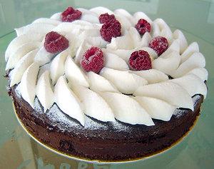 ウィーン風チョコレートケーキ