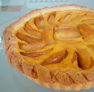 ノルマンディ風リンゴのタルト