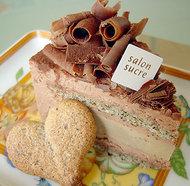 アールグレイとミルクチョコレートのアントルメ