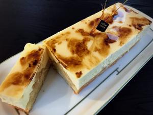 キャラメルピーチチーズケーキ